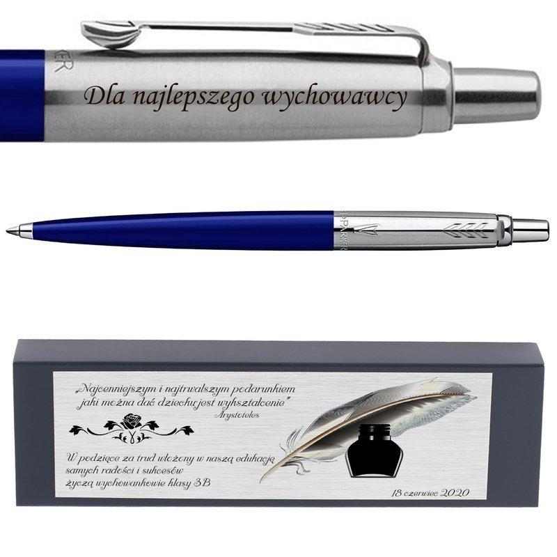 Długopis Jotter Special Niebieski Prezent z Twoim Grawerem i Dedykacją
