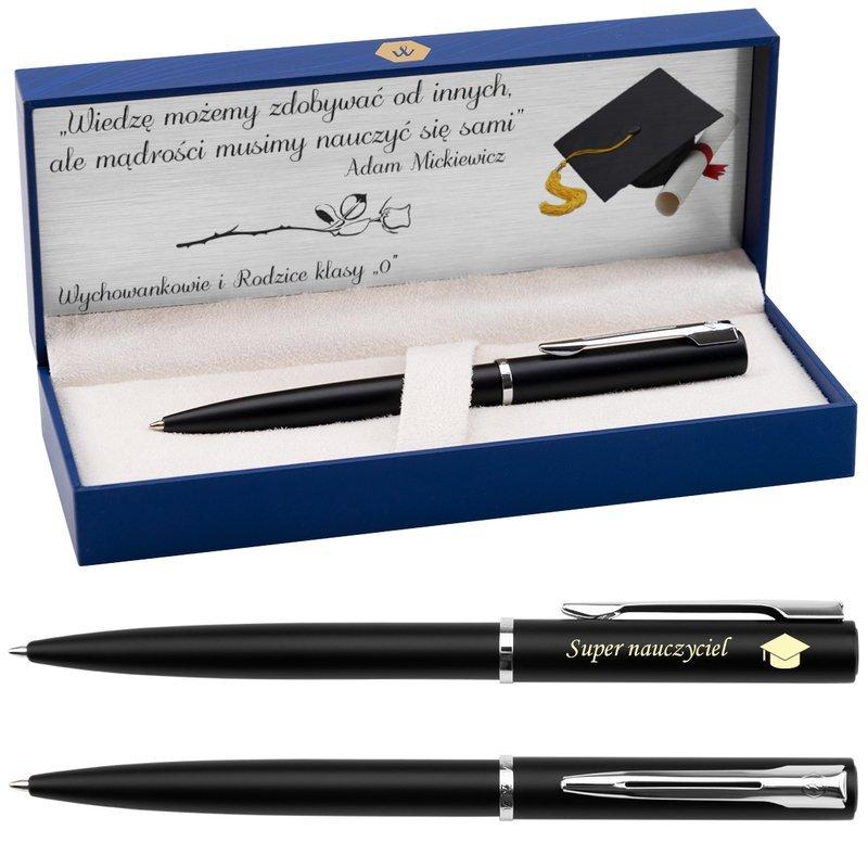Długopis Waterman Allure Czarny CT z Grawerem