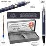 Długopis Parker IM Niebieski Matowy CT z Grawerem 3