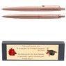 Długopis Parker Jotter XL Monochrome Pink Gold Grawer i Dedykacja 1