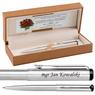 Długopis Parker Vector Stalowy Prezent Tabliczka Grawer 8