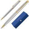 Długopis Waterman Hemisphere stalowy GT z Grawerem Etui Torebka 3