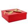 Pudełko na prezent Czerwone 30,5 x 11 cm XXL 1