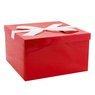 Pudełko na prezent Czerwone 30,5 x 18 cm rozmiar XXL+ 1