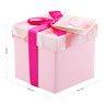 Pudełko na prezent różowe XS 2