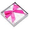 Pudełko na prezent szaro-różowe XS 3