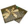 Pudełko na prezent zielone w gwiazdy XL 2