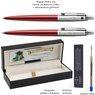 Zestaw Długopis Ółówek Jotter Parker Czerwony CT Prezent Grawer 3