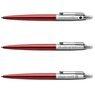 Zestaw Długopis Ółówek Pióro wieczne Jotter Parker Czerwony CT Prezent Grawer 5