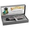 Zestaw Parker IM Długopis Pióro Dark Espresso CT z Grawerem 2