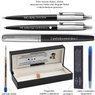 Zestaw Parker Pióro Długopis Jotter Bond Street CT Czarne z Grawerem 3