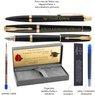 Zestaw Parker Urban Pióro i Długopis Muted Black GT z Grawerem 3
