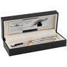 Zestaw Pióro + Długopis Waterman Hemisphere stalowy CT z Grawerem  2