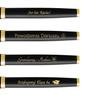Zestaw Pióro Wieczne Długopis Parker IM Black GT z Grawerem 7