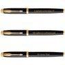 Zestaw Pióro Wieczne Długopis Parker IM Black GT z Grawerem 5