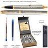 Zestaw Pióro i Długopis Parker IM Brushed GT z Grawerem 3