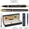 Zestaw Pióro wieczne Długopis Parker IM Czarny GT Etui z Grawerem 3